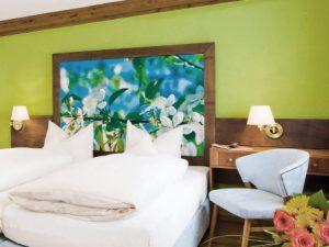 Hotel Münchner Hof Regensburg Doppelzimmer Kirschblüte