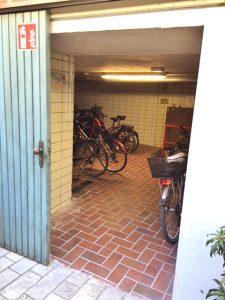 Hotel Münchener Hof Regensburg, Fahrradgarage
