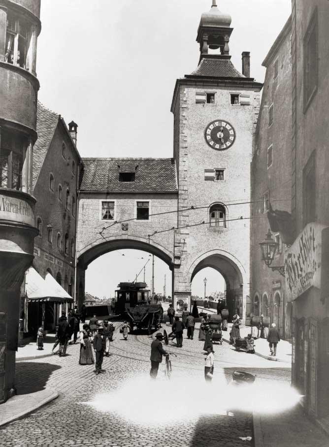 Lithowerkstatt Regensburg Fr Ant Niedermayr Amberger Salzstadel