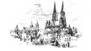 AltstadtQuartier Lithowerkstatt Niedermayr Regensburg Strich