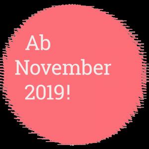 Ab November 2019