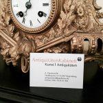 Altstadtquartier Regensburg Aniquitäten Kabinett alte Uhr
