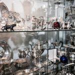 Altstadtquartier Regensburg Aniquitäten Kabinett Silber